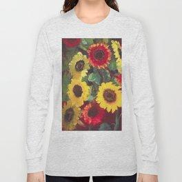 Sunflowers by Emil Nolde Long Sleeve T-shirt