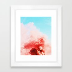 Candy Smoke #society6 #decor #buyart Framed Art Print