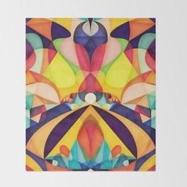 Poetry Geometry Throw Blanket