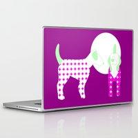 puppies Laptop & iPad Skins featuring Puppies by Silja Rouvinen