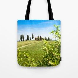 tuscany countryside villa Tote Bag