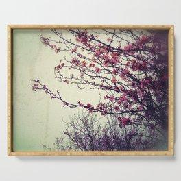 Cherry Blossom Serving Tray