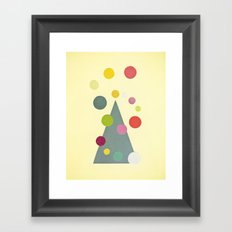 Christmas Lights Framed Art Print