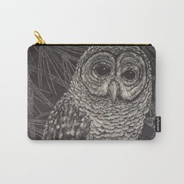 Illustrated Owl Carry-All Pouch