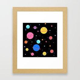 Hula Universe Framed Art Print