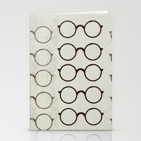 glasses Stationery Cards featuring (Glasses) by Mr and Mrs Quirynen