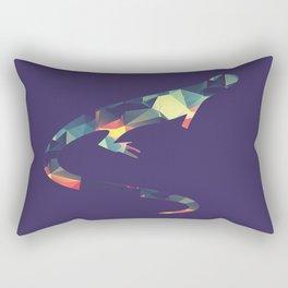 Changing colors Rectangular Pillow