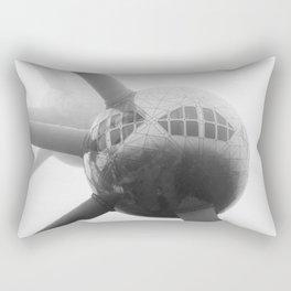 THE ATOM BUILDING AT DAYTIME Rectangular Pillow