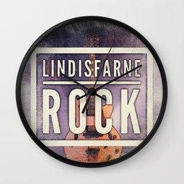 Lindisfarne Rock Wall Clock