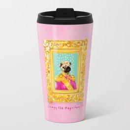 Pug the Magnifique Travel Mug