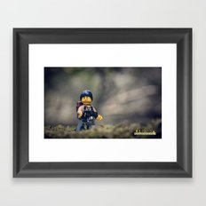 Everything Is Awesome Ramble Framed Art Print