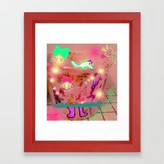 Happy Virus  Framed Art Print