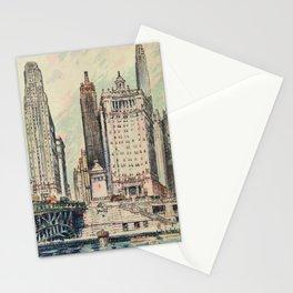 Suydam, Edward H. (1885-1940) - Chicago, A Portrait 1931 Stationery Cards