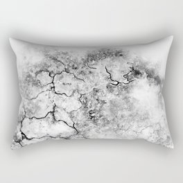 Resistance / abstract art / black and white Rectangular Pillow