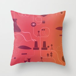 Les Forges par ENZA #4 Throw Pillow