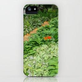 Garden Path iPhone Case