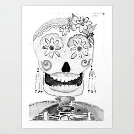 Katrina grises Art Print