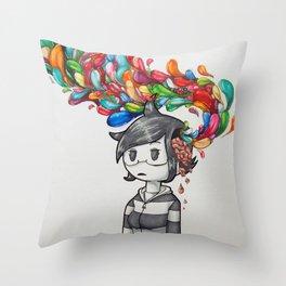Brain Matter Throw Pillow
