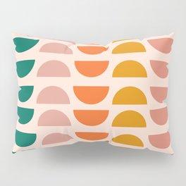 Retro 70s Geometrics Pillow Sham