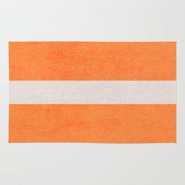 orange classic Rug