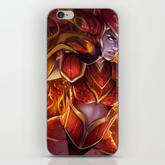 THE HALF DRAGON iPhone & iPod Skin
