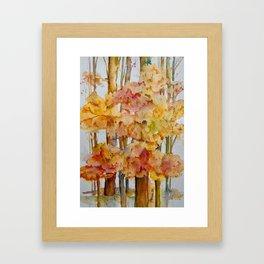 Fall Day Framed Art Print