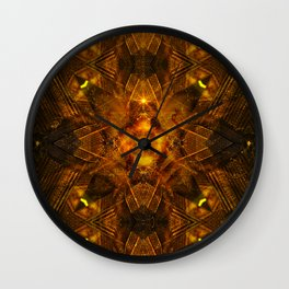 Illusion Of Matter Wall Clock