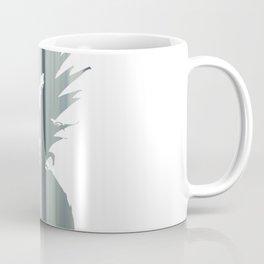 Pineapple - Silver Coffee Mug