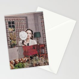Clinically happy Stationery Cards