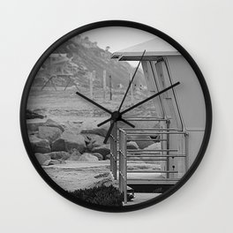 2 By The Sea Wall Clock