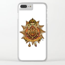 Keep Korma and Curry On Clear iPhone Case