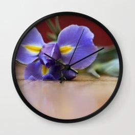 Blooms Wall Clock