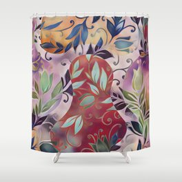 Singing Hallelujah Shower Curtain