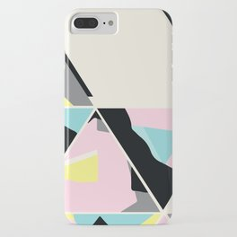 triangle no.3 / with love iPhone Case
