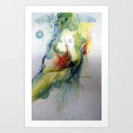 Klooster Series: Male Nude Arie Art Print