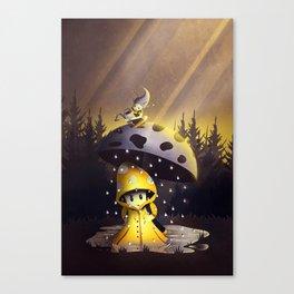 Rain Drops Canvas Print
