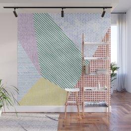 Chalk Patterns Wall Mural