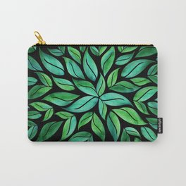 Night Leaves Carry-All Pouch