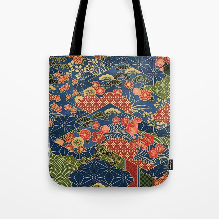 An Quilt Tote Bag