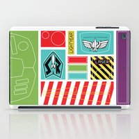 buzz lightyear iPad Cases featuring TOY STORY : BUZZ LIGHTYEAR STICKERS KIT by DrakenStuff+