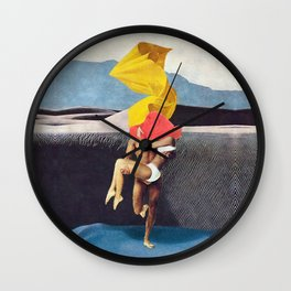 The Lovers vs the Elements - PAINTING Wall Clock