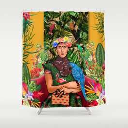 Holly Grace Shower Curtain