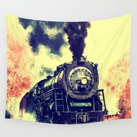 thorin Wall Tapestries featuring Express Train by Thorin