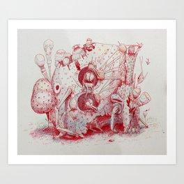 The Pica Gloom Art Print