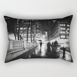 New York City Noir Rectangular Pillow
