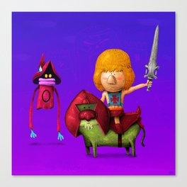 Prince of Eternia Canvas Print