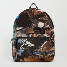 African Queen - Magazine Collage Backpack