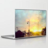 namaste Laptop & iPad Skins featuring Namaste by not a name