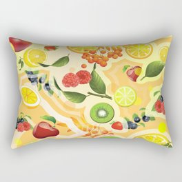 Mixed Fruit 2 Rectangular Pillow