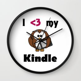 Kindle Love Wall Clock